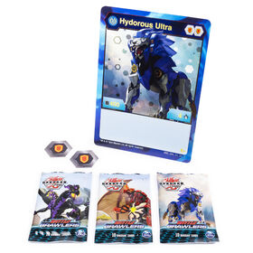 Bakugan, Deluxe Battle Brawlers Card Collection with Jumbo Foil Hydorous Ultra Card