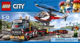 LEGO City - Le transport de cargaison lourde 60183