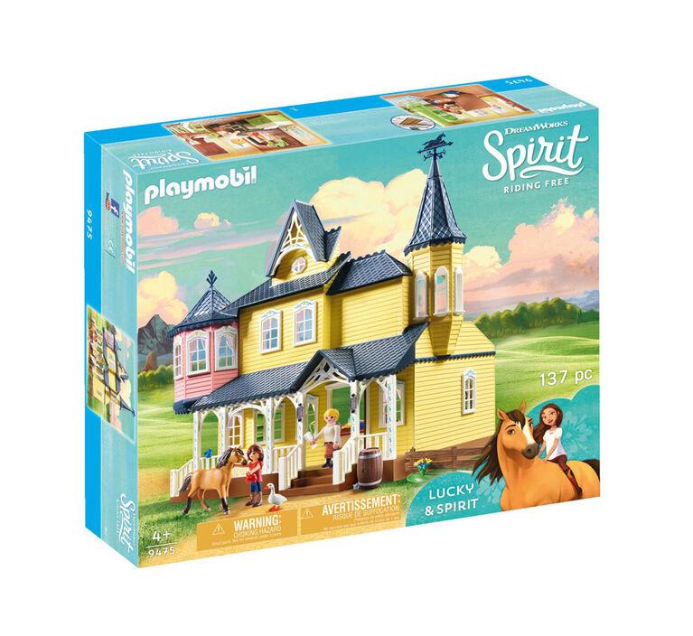 Playmobil - Spirit Maison de Lucky (9475)