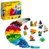 LEGO Classic Briques transparentes créatives 11013