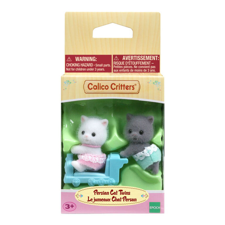 Calico Critters Persian Cat Twins