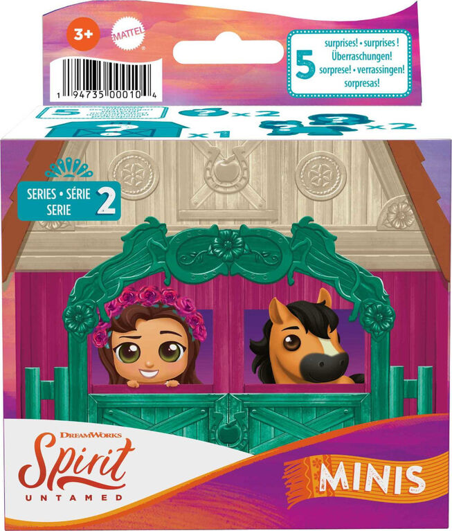 Spirit Untamed Minis Lucky and Spirit Doll and Horse