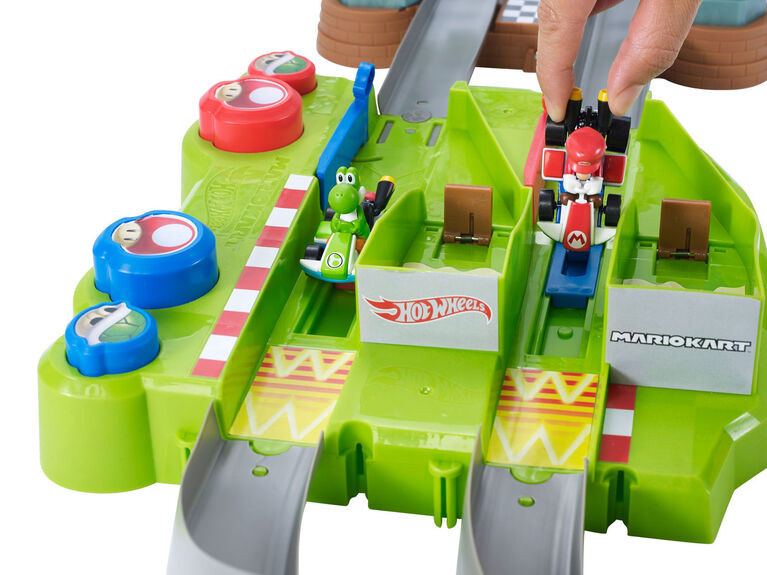 Hot Wheels - Mariokart - Coffret piste Circuit Mario Simple - Notre Exclusivité