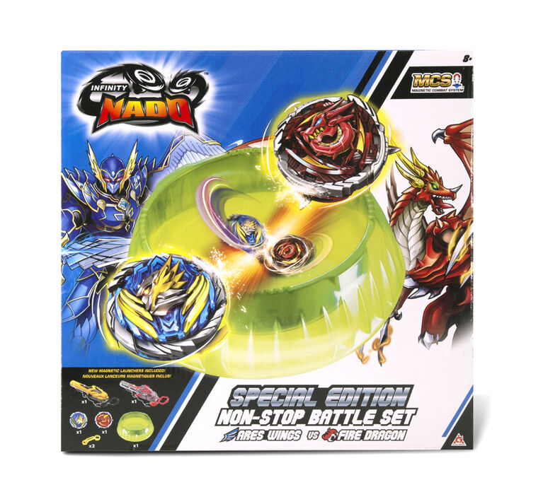 Infinity Nado V - Special Edition Non-Stop Battle Set - R Exclusive
