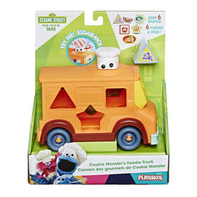 Sesame Street Cookie Monster's Foodie Truck, Shape Sorter and Vehicle Toy