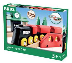 BRIO Circuit en 8 tradition - Édition anglaise