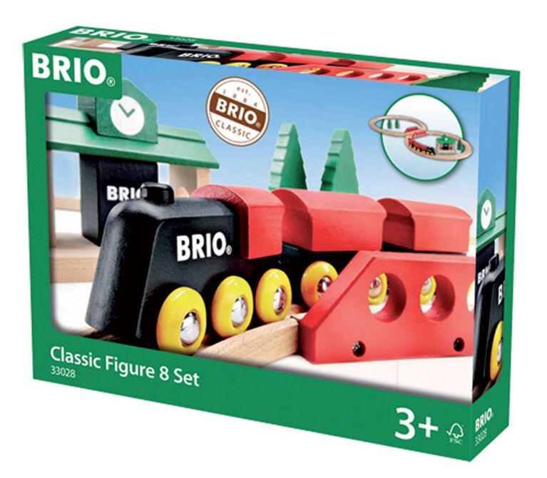 BRIO Classic Figure 8 Set - English Edition