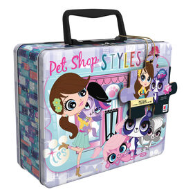 Littlest Pet Shop 48-Piece Kids Jigsaw Puzzle in Tin with Handle