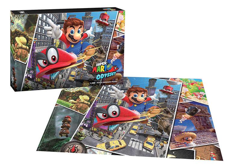 """Super Mario Odyssey """"Snapshots"""" 1000 Piece Puzzle"""