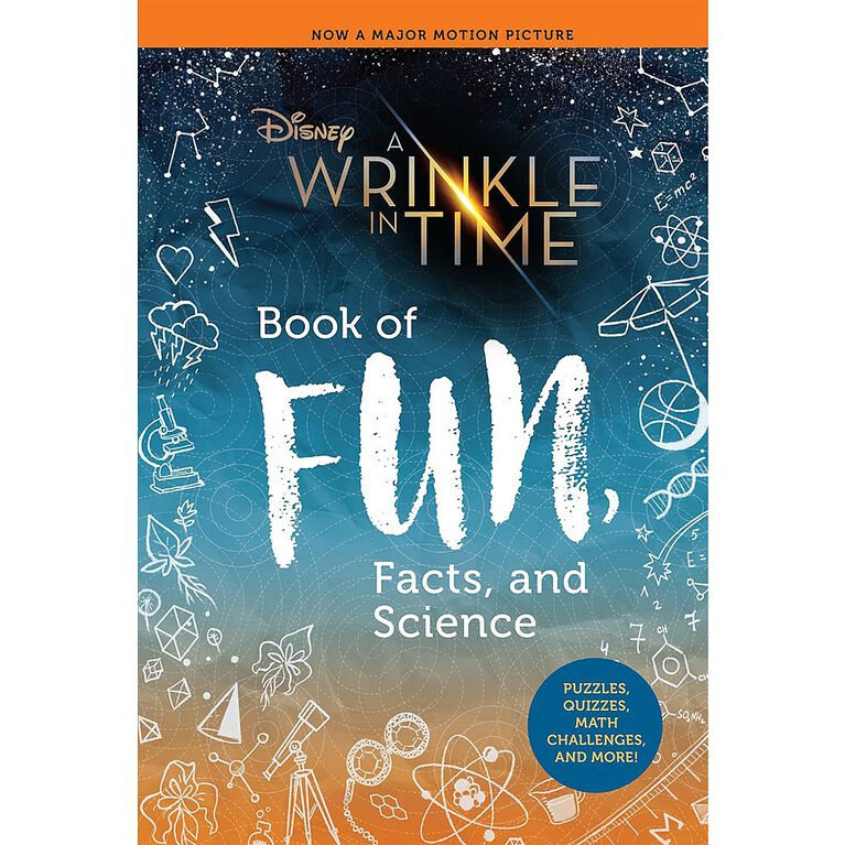 A Wrinkle in Time Book of Fun, Facts, and Science