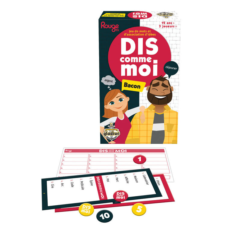 Dis comme moi game - French Edition