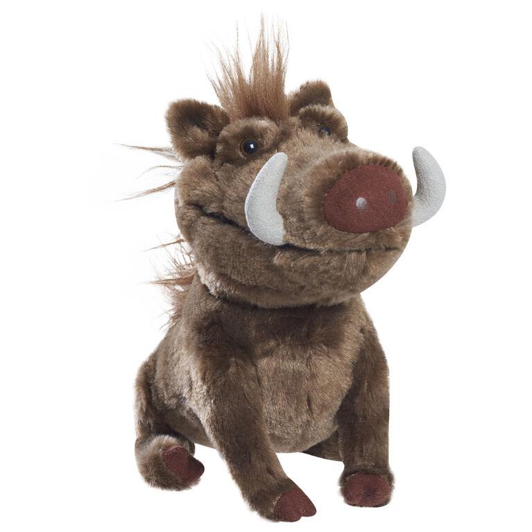 Petite Peluche du Film d'Animation Le Roi Lion avec Sons - Pumbaa
