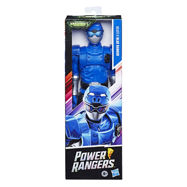 Power Rangers Beast Morphers 12-Inch Beast-X Blue Ranger Action Figure