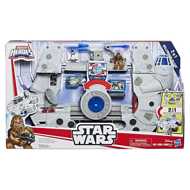 Star Wars Galactic Heroes 2-in-1 Millennium Falcon