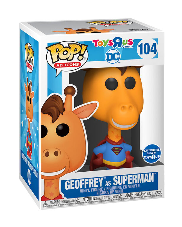 Funko POP! Ad Icons: DC - Geoffrey as Superman - R Exclusive