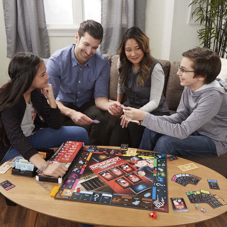 Hasbro Gaming - Monopoly Game: Cheaters Edition