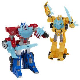 Transformers Bumblebee Cyberverse Adventures Dinobots Unite Roll N' Change, figurine Bumblebee