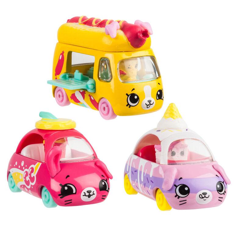 Shopkins Cutie Cars 3pack - Drive-In Movie