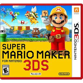 Nintendo 3DS - Super Mario Maker for Nintendo 3DS