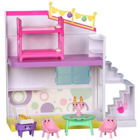 Shopkins Happy  Places - Studio en fête Maison Heureuse.