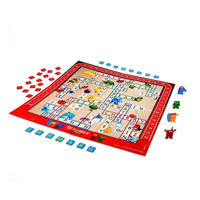 Hasbro Gaming - Scrabble Junior Game - English Edition - styles may vary
