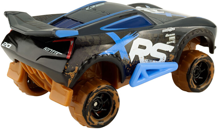 Disney/Pixar Cars XRS Mud Racing Jackson Storm Vehicle - English Edition