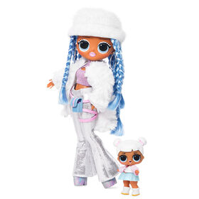 L.O.L. Surprise! O.M.G. Winter Disco Snowlicious Fashion Doll & Sister - English Edition