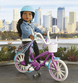 Journey Girls Bicyclette - Violet et bleu.