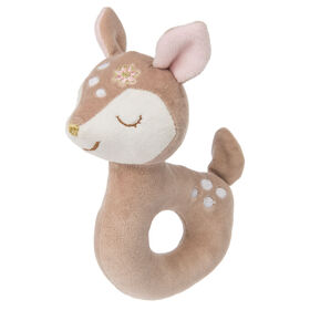 Mary Meyer - Itsy Glitzy Faon Rattle 6 po