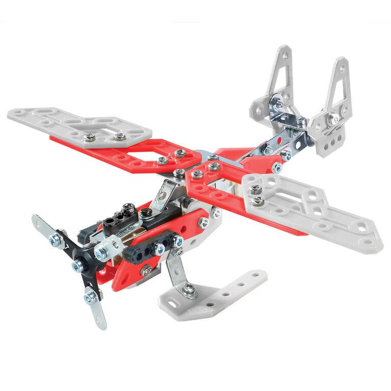 Meccano-Erector - 20 Model Building Kit - Aerial Rescue