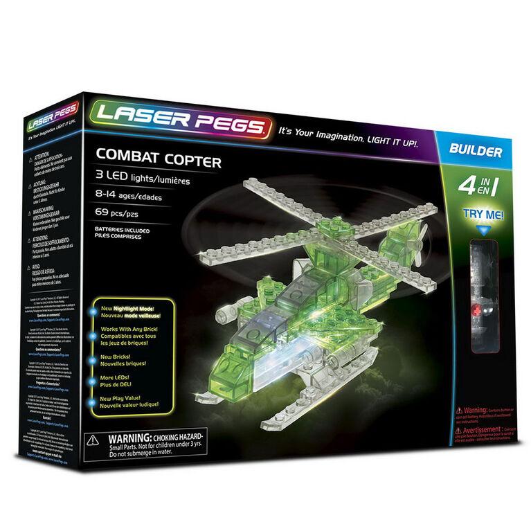 Laser Pegs Combat 4-In-1   Building Set