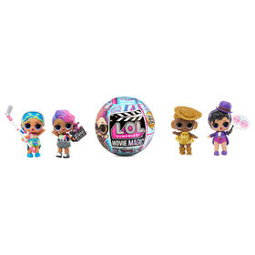 LOL Surprise Movie Magic Dolls with 10 Surprises Including Doll, Movie Props, Unique Movie Scene Card, and Accessories
