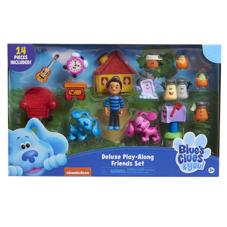 Blue's Clues & You! Deluxe Play-Along Friends Set