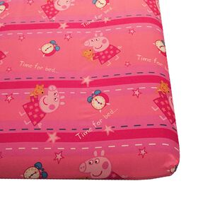 "Peppa Pig ""Bedtime"" Twin Sheet Set"