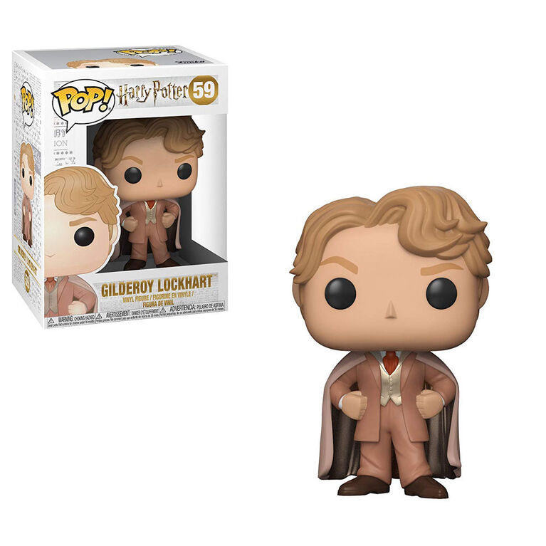 Funko POP! Movies: Harry Potter - Gilderoy Lockhart Vinyl Figure