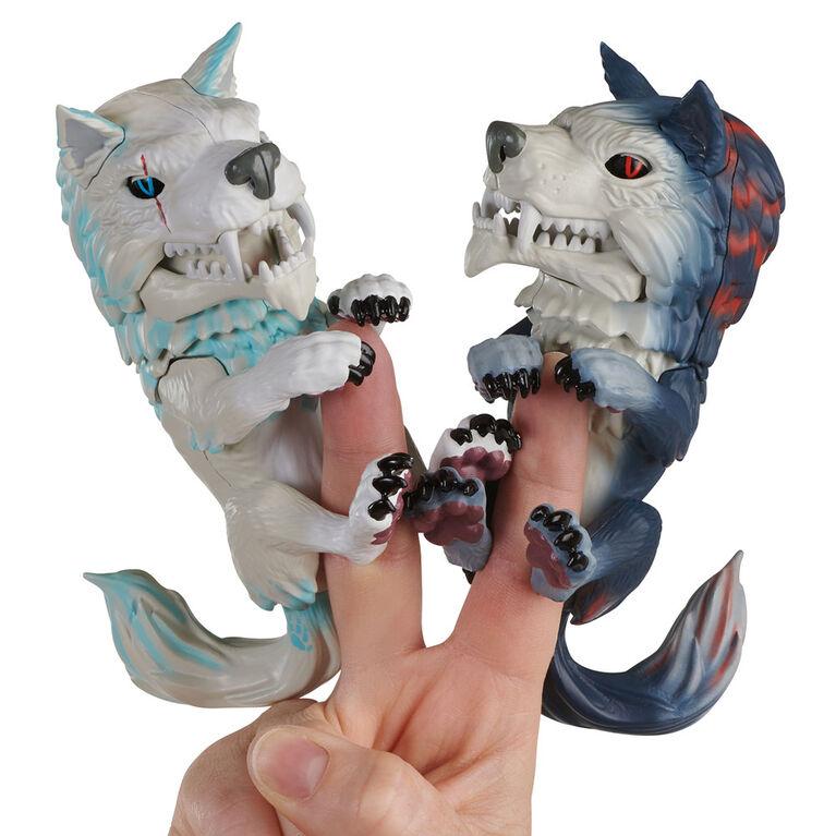Fingerlings Sauvages - Loup Féroce - Blizzard. - Notre Exclusivité