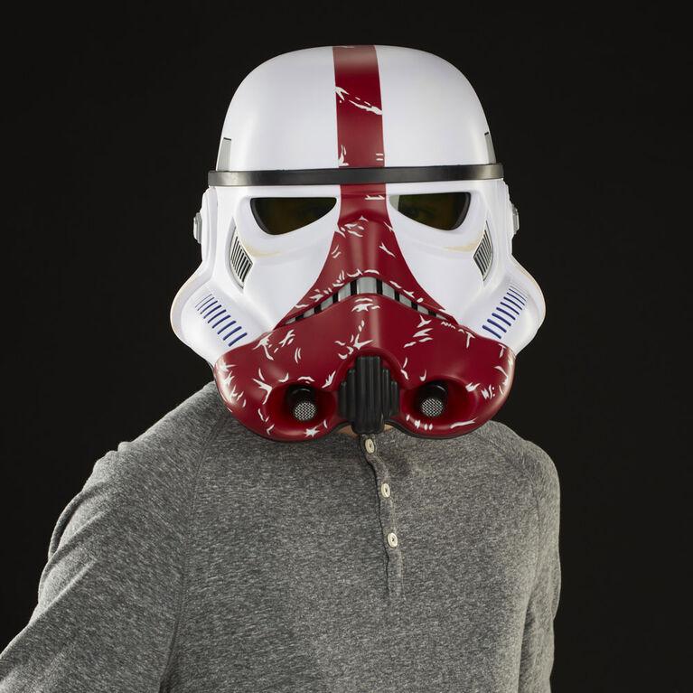 Star Wars The Black Series The Mandalorian Incinerator Stormtrooper Premium Electronic Helmet