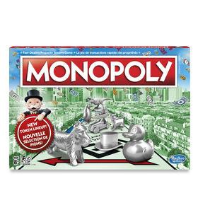 Hasbro Gaming - Monopoly - les motifs peuvent varier
