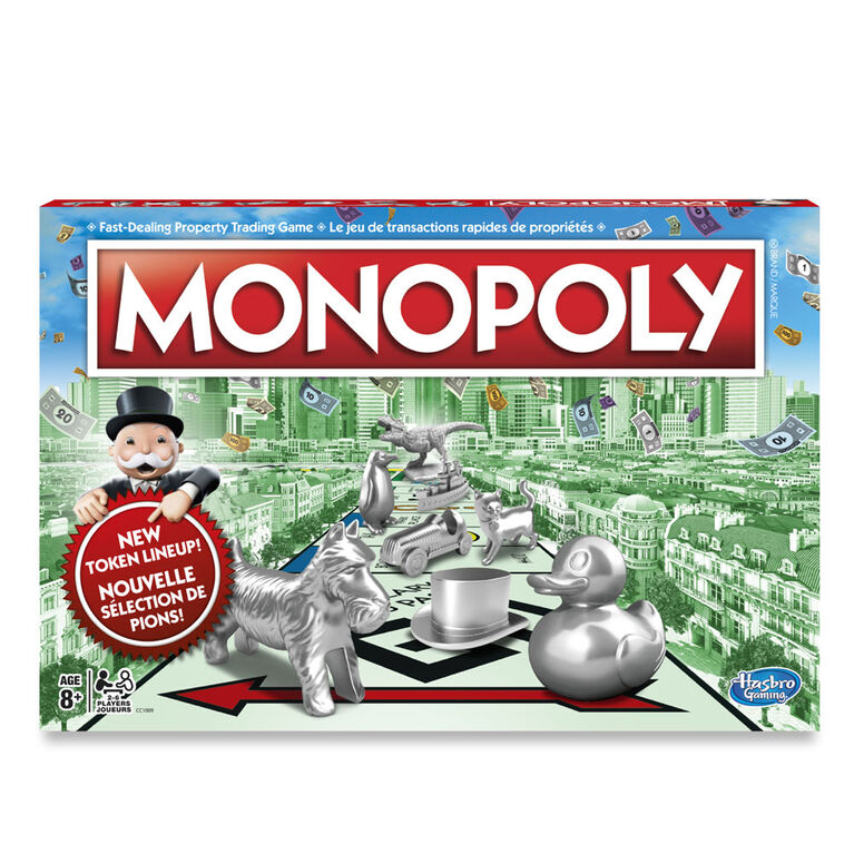 Hasbro Gaming - Monopoly - styles may vary