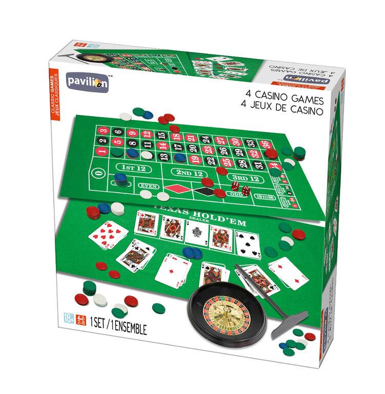 Pavilion Jeux Classiques - 4 Jeux de casino