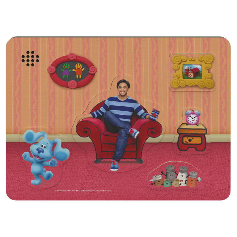 Blue's Clues Chunky Wood Sound Puzzle