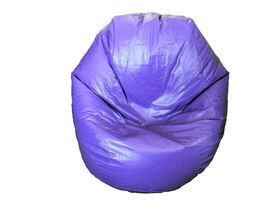 Boscoman - Fun Teardrop Adult Vinyl Bean Bag - Purple