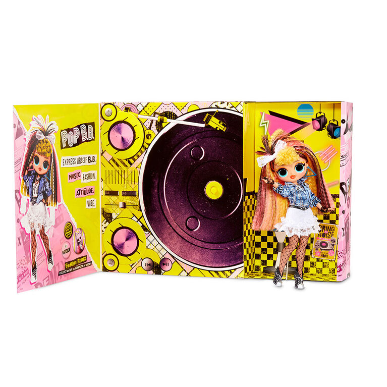 Poupée-mannequin L.O.L. Surprise! O.M.G. Remix Pop B.B.: 25 surprises avec musique