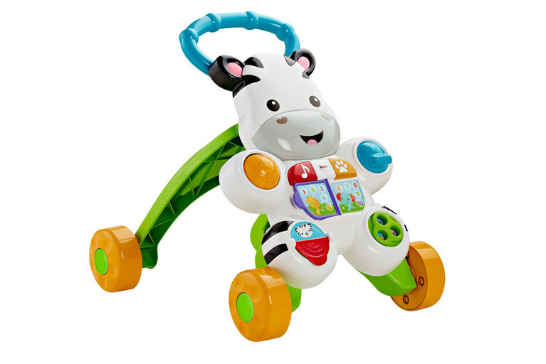 Fisher-Price Learn with Me Zebra Walker - French Edition