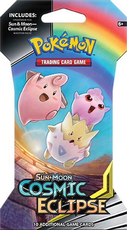 "Pokemon Sun & Moon 12 ""Cosmic Eclipse"" Sleeved Booster"