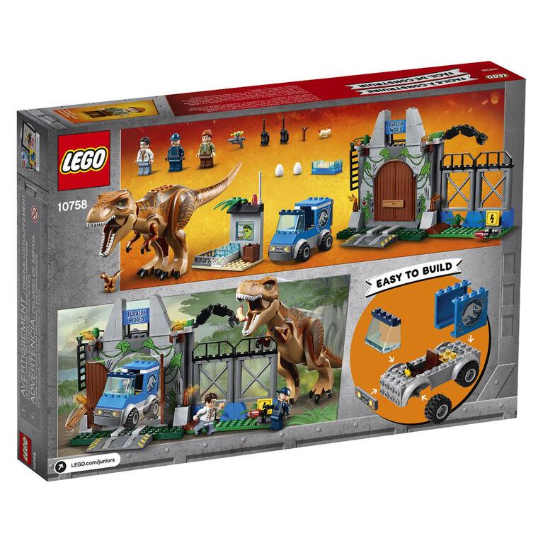 LEGO Juniors L'évasion du tyrannosaure 10758