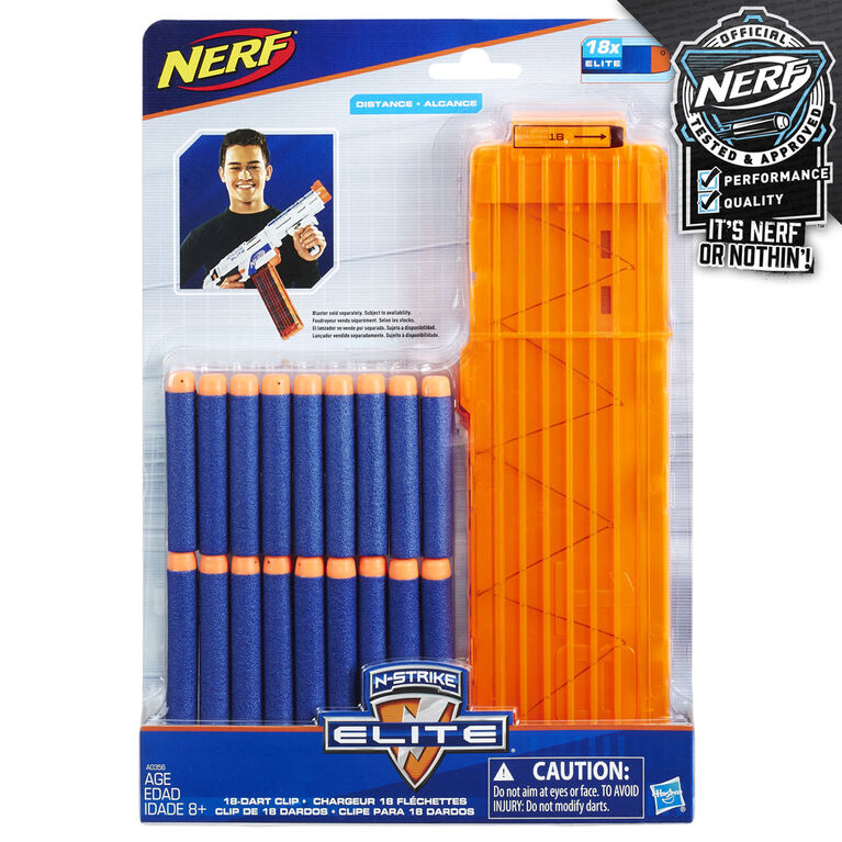 Nerf N-Strike Elite 18-Dart Quick Reload Clip Refill - R Exclusive