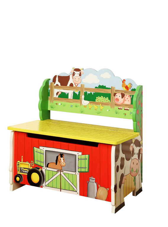 Fantasy Fields - Banc de stockage Happy Farm