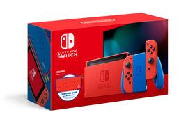 Nintendo Switch™ - édition Mario bleu et rouge