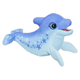 furReal Dazzlin' Dimples My Playful Dolphin, 80+ Sounds and Reactions, Interactive Toy Electronic Pet
